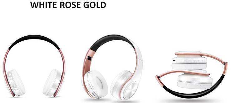 Foldable Wireless Bluetooth Headset