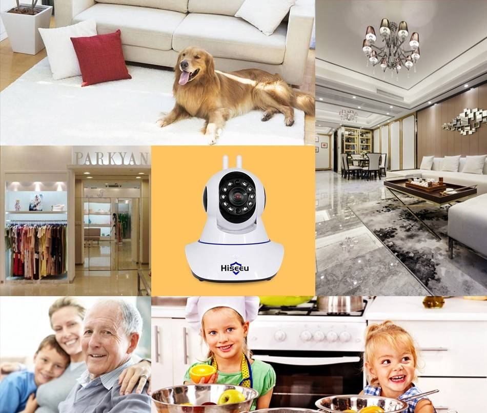 1536P WiFi Home Security Camera