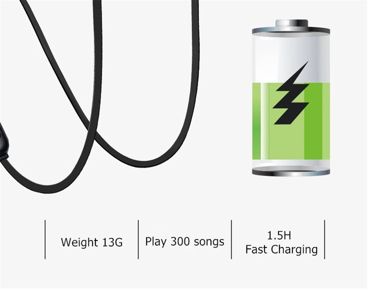 Magnetic Wireless Bluetooth Earphone